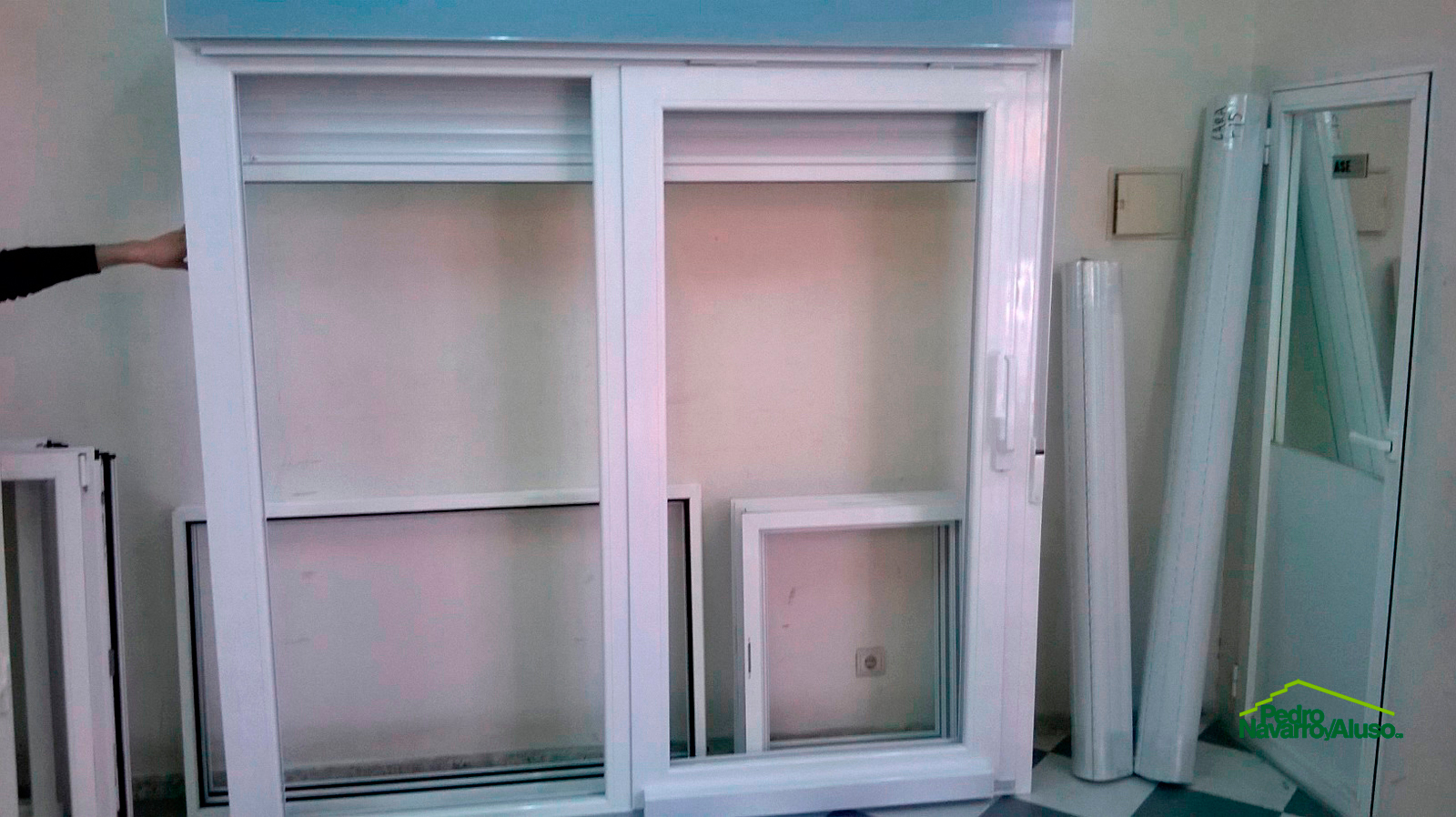 Trabajos realizados en ventanas de PVC o Aluminio