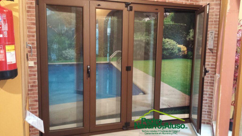 Cerramientos de aluminio y cerramientos plegables - Puertas plegables de aluminio ...