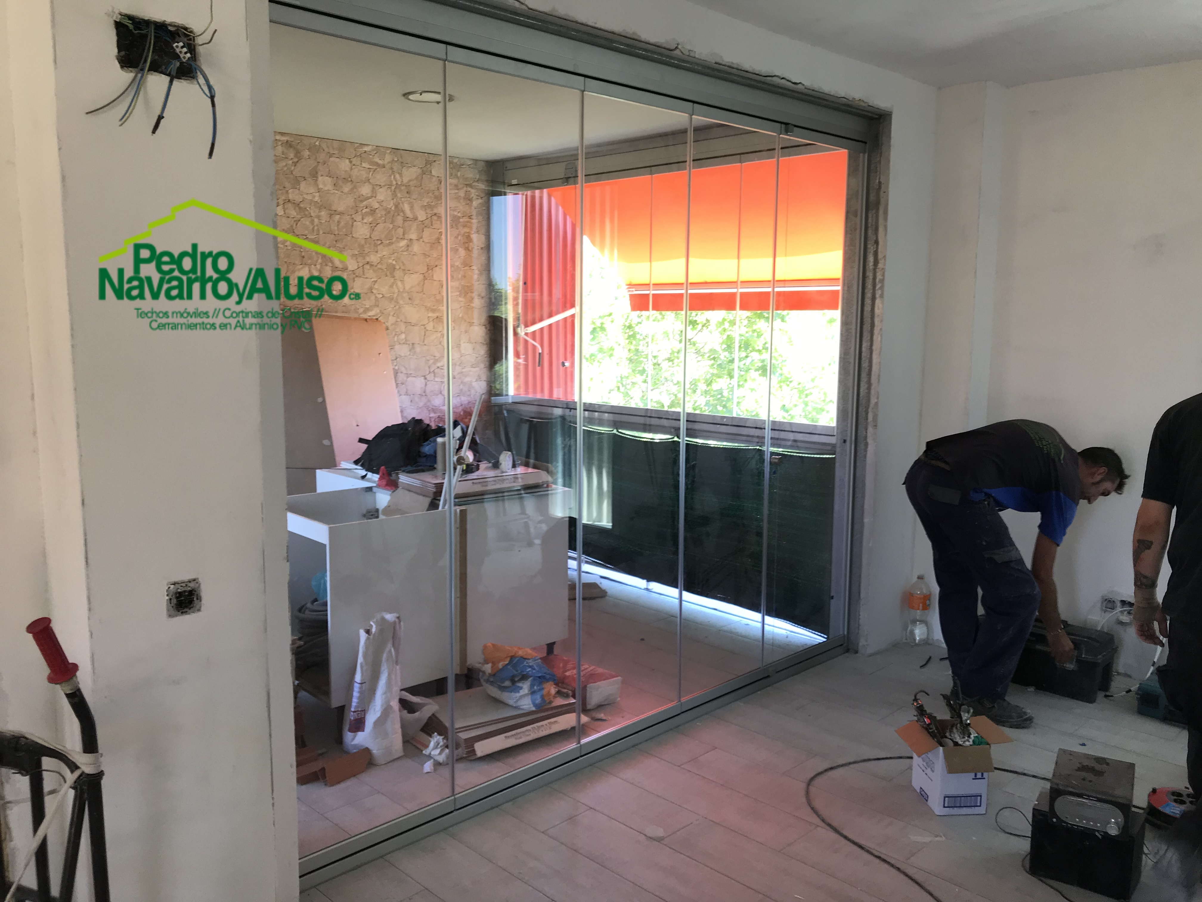 Ultimas Obras  Cortinas de Cristal